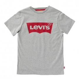 CAMISETA BÁSICA COLOR GRIS.-LEVIS
